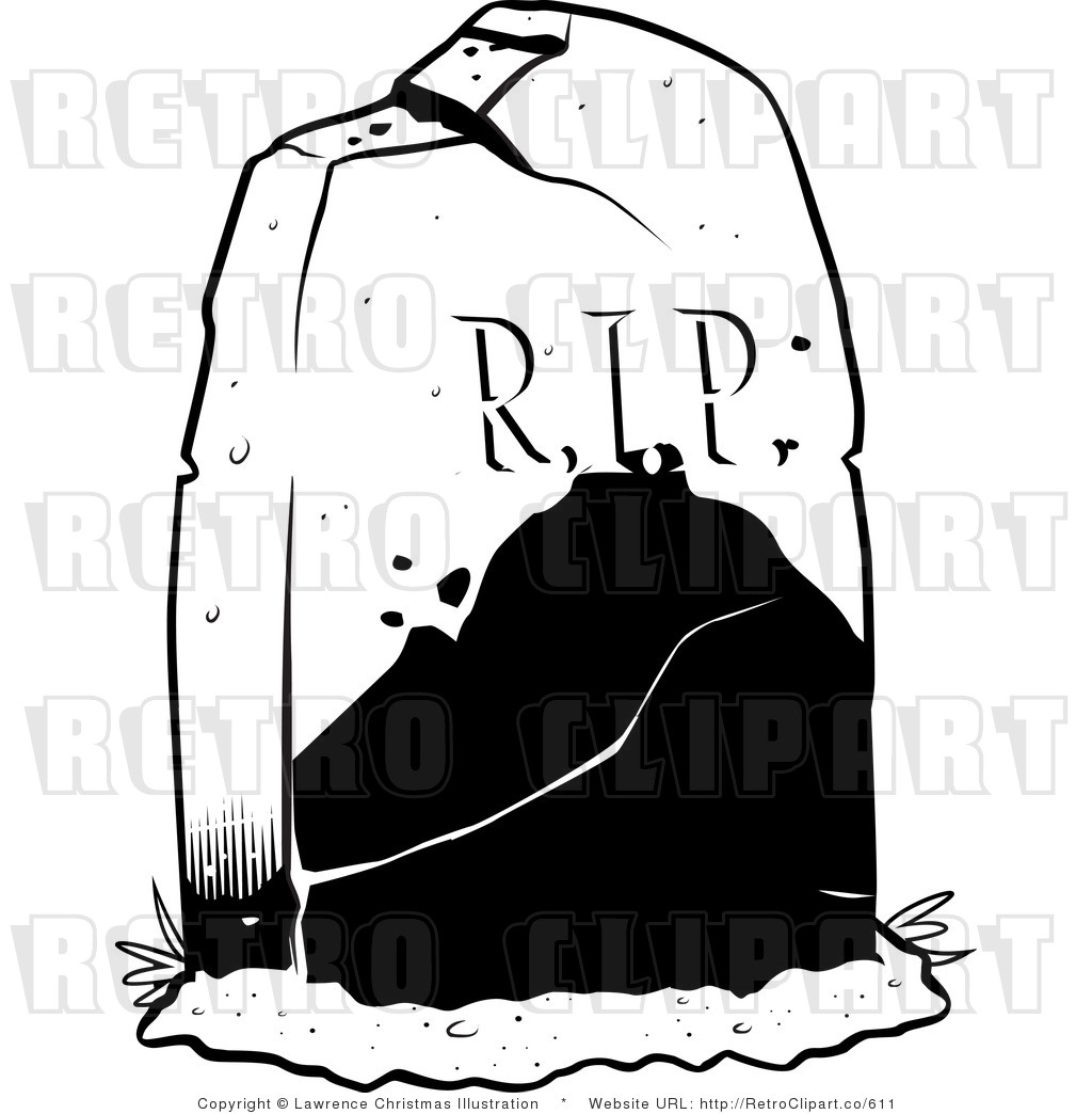 Rest In Peace Clipart Free vector clipart