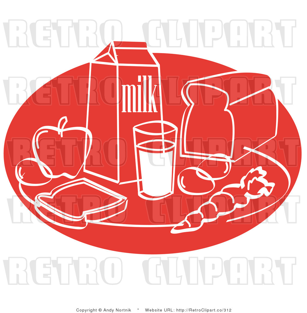 Dairy Food Group Clip Art Dairy Food Group Retro Foods