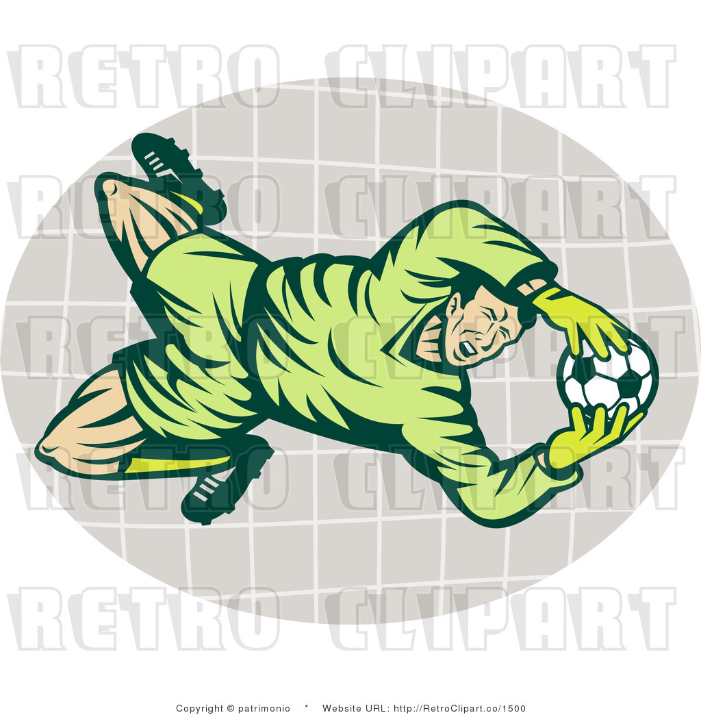 Clip Art Soccer Goalie...
