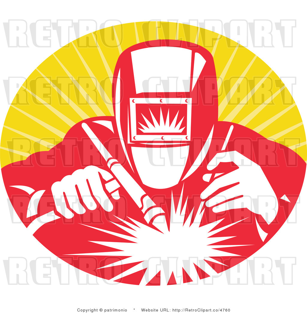 Welding Clip Art http://retroclipart.co/design/royalty-free-retro-welder-at-work-over-yellow-by-patrimonio-4760