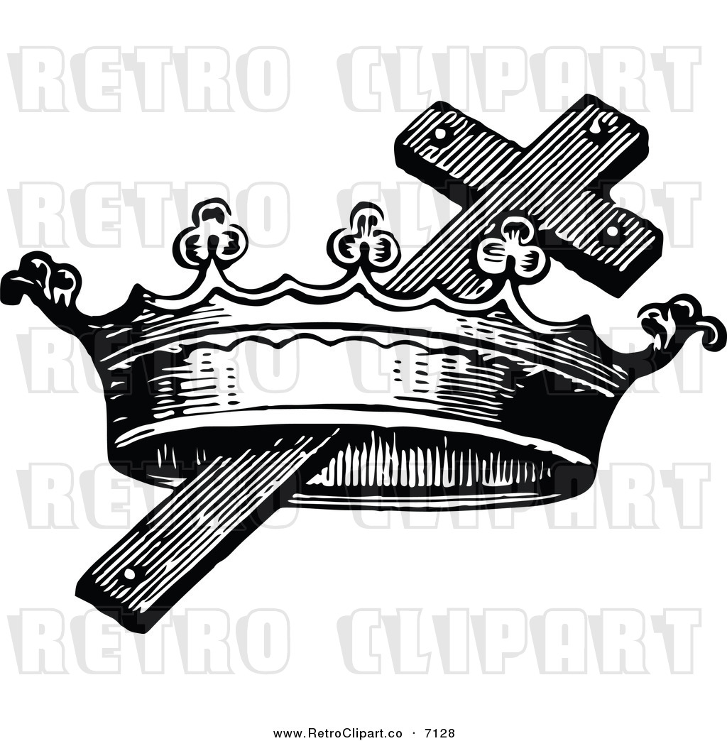 free cross and crown clipart - photo #15