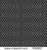 Clip Art of Retro Seamless Background of a Twill Weave Texture by Arena Creative