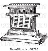 Vector Clip Art of Antique Electric Toaster in by Picsburg
