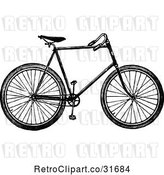 Vector Clip Art of Bicycle 1 by Prawny Vintage