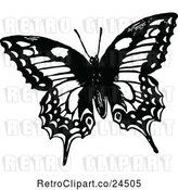 Vector Clip Art of Butterfly by Prawny Vintage