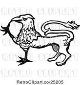 Vector Clip Art of Griffin by Prawny Vintage