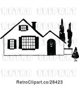 Vector Clip Art of Home 1 by Prawny Vintage