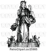 Vector Clip Art of Law and Justice by Prawny Vintage