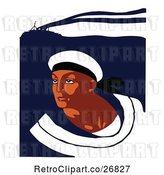 Vector Clip Art of Navy Sailor by Prawny Vintage