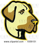 Vector Clip Art of Retro Anatolian Shepherd Dog Mascot by Patrimonio