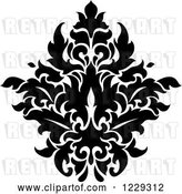 Vector Clip Art of Retro Arabesque Damask Design 13 by Vector Tradition SM