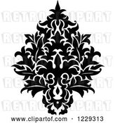 Vector Clip Art of Retro Arabesque Damask Design 14 by Vector Tradition SM