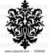 Vector Clip Art of Retro Arabesque Damask Design 15 by Vector Tradition SM