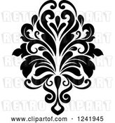 Vector Clip Art of Retro Arabesque Damask Design 16 by Vector Tradition SM