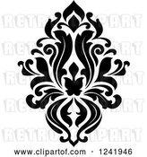 Vector Clip Art of Retro Arabesque Damask Design 17 by Vector Tradition SM