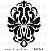Vector Clip Art of Retro Arabesque Damask Design 18 by Vector Tradition SM