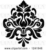 Vector Clip Art of Retro Arabesque Damask Design 19 by Vector Tradition SM