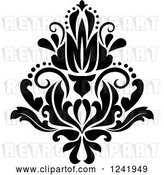 August 14th, 2018: Vector Clip Art of Retro Arabesque Damask Design 20 by Vector Tradition SM