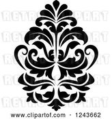 Vector Clip Art of Retro Arabesque Damask Design 22 by Vector Tradition SM
