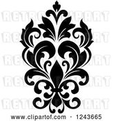 Vector Clip Art of Retro Arabesque Damask Design 24 by Vector Tradition SM