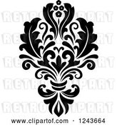 Vector Clip Art of Retro Arabesque Damask Design 25 by Vector Tradition SM