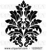 Vector Clip Art of Retro Arabesque Damask Design 3 by Vector Tradition SM
