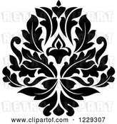 Vector Clip Art of Retro Arabesque Damask Design 7 by Vector Tradition SM