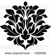 Vector Clip Art of Retro Arabesque Damask Design 8 by Vector Tradition SM