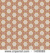 Vector Clip Art of Retro Arabic Pattern Background by KJ Pargeter