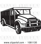 August 14th, 2018: Vector Clip Art of Retro Armored Bank Car by Patrimonio