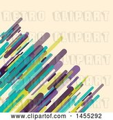 Vector Clip Art of Retro Background of Lines on Tan by KJ Pargeter