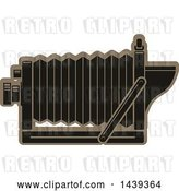 Vector Clip Art of Retro Bellows Camera by Vector Tradition SM