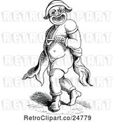 Vector Clip Art of Retro Buffoon by Prawny Vintage