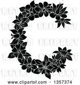 Vector Clip Art of Retro Floral Letter C Design by Vector Tradition SM