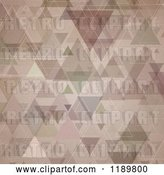 Vector Clip Art of Retro Grungy Trigle Background by KJ Pargeter