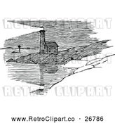 May 4th, 2018: Vector Clip Art of Retro Lighthouse by Prawny Vintage