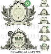 Vector Clip Art of Retro Money Design Elements by BestVector