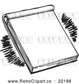 Vector Clip Art of Retro Note Pad by BestVector