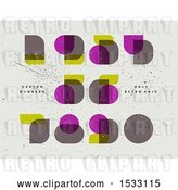Vector Clip Art of Retro Numbers in Neoclassical Didot by Elena