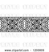 Vector Clip Art of Retro Ornate Arabian Border 2 by Vector Tradition SM