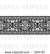 Vector Clip Art of Retro Ornate Arabian Border 3 by Vector Tradition SM