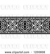 Vector Clip Art of Retro Ornate Arabian Border by Vector Tradition SM