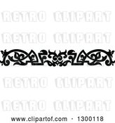 Vector Clip Art of Retro Ornate Border 9 by Vector Tradition SM