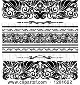 Vector Clip Art of Retro Ornate Border Designs by Vector Tradition SM