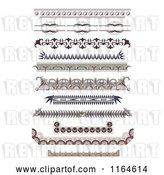Vector Clip Art of Retro Ornate Certificate Border Designs by Vectorace