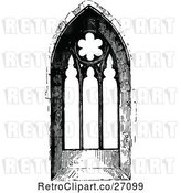 Vector Clip Art of Retro Ornate Church Window 4 by Prawny Vintage