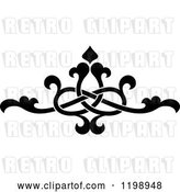 Vector Clip Art of Retro Ornate Floral Victorian Design Element 10 by Vector Tradition SM