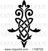 Vector Clip Art of Retro Ornate Floral Victorian Design Element 14 by Vector Tradition SM
