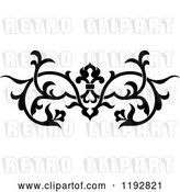 Vector Clip Art of Retro Ornate Floral Victorian Design Element 2 by Vector Tradition SM