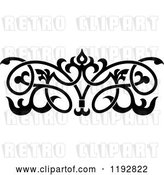 Vector Clip Art of Retro Ornate Floral Victorian Design Element 3 by Vector Tradition SM